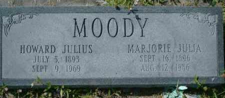 MOODY, HOWARD JULIUS - Collier County, Florida | HOWARD JULIUS MOODY - Florida Gravestone Photos