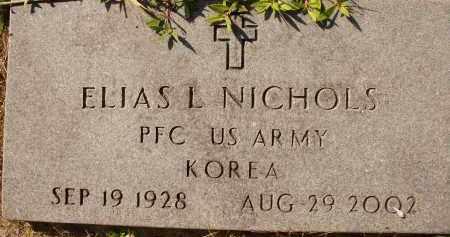 NICHOLS (VETERAN KOR), ELIAS L. - Collier County, Florida | ELIAS L. NICHOLS (VETERAN KOR) - Florida Gravestone Photos
