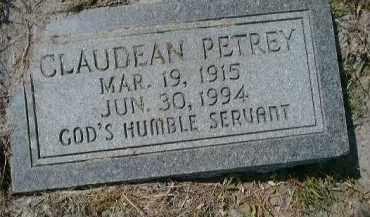 PETREY, CLAUDEAN - Collier County, Florida | CLAUDEAN PETREY - Florida Gravestone Photos