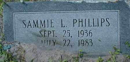 PHILLIPS, SAMMIE L. - Collier County, Florida | SAMMIE L. PHILLIPS - Florida Gravestone Photos