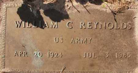 REYNOLDS (VETERAN), WILLIAM C. - Collier County, Florida | WILLIAM C. REYNOLDS (VETERAN) - Florida Gravestone Photos