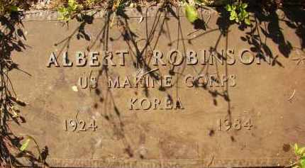 ROBINSON (VETERAN KOR), ALBERT - Collier County, Florida   ALBERT ROBINSON (VETERAN KOR) - Florida Gravestone Photos