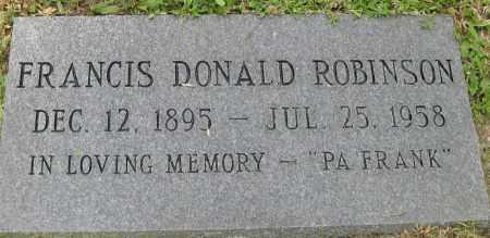 ROBINSON, FRANCIS DONALD - Collier County, Florida | FRANCIS DONALD ROBINSON - Florida Gravestone Photos
