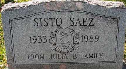 SAEZ, SISTO - Collier County, Florida | SISTO SAEZ - Florida Gravestone Photos