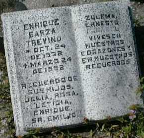 TREVINA, ENRIQUE GARZA - Collier County, Florida | ENRIQUE GARZA TREVINA - Florida Gravestone Photos