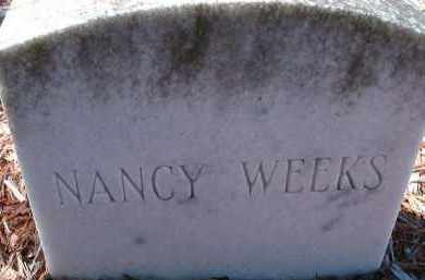 WEEKS, NANCY - Collier County, Florida | NANCY WEEKS - Florida Gravestone Photos