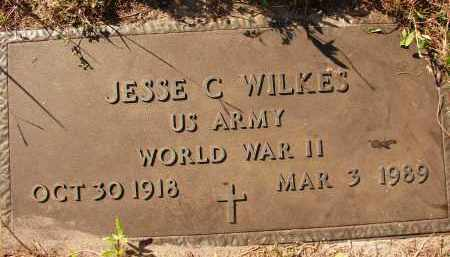 WILKES (VETERAN WWII), JESSE C. - Collier County, Florida | JESSE C. WILKES (VETERAN WWII) - Florida Gravestone Photos