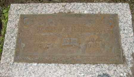 BARRON, JOSEPH F. - Miami-Dade County, Florida | JOSEPH F. BARRON - Florida Gravestone Photos