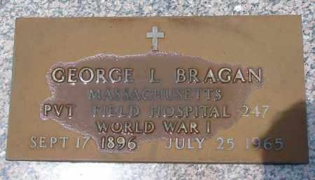 BRAGAN (VETERAN WWI), GEORGE L - Miami-Dade County, Florida | GEORGE L BRAGAN (VETERAN WWI) - Florida Gravestone Photos