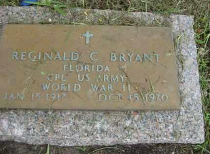 BRYANT (VETERAN WWII), RREGINALD C. - Miami-Dade County, Florida   RREGINALD C. BRYANT (VETERAN WWII) - Florida Gravestone Photos