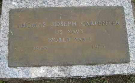 CARPENTER (VETERAN WWI), THOMAS JOSEPH - Miami-Dade County, Florida | THOMAS JOSEPH CARPENTER (VETERAN WWI) - Florida Gravestone Photos
