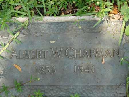 CHAPMAN, ALBERT W - Miami-Dade County, Florida | ALBERT W CHAPMAN - Florida Gravestone Photos