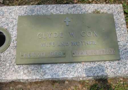 COX, CLYDE W. - Miami-Dade County, Florida   CLYDE W. COX - Florida Gravestone Photos