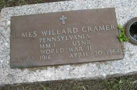 CRAMER (VETERAN WWII, JAMES WILLARD - Miami-Dade County, Florida | JAMES WILLARD CRAMER (VETERAN WWII - Florida Gravestone Photos