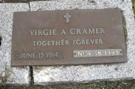 CRAMER, VIRGIE A. - Miami-Dade County, Florida | VIRGIE A. CRAMER - Florida Gravestone Photos