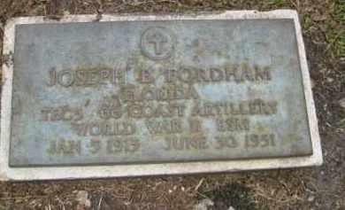 FORDHAM (VETERAN WWII), JOSEPH B. - Miami-Dade County, Florida | JOSEPH B. FORDHAM (VETERAN WWII) - Florida Gravestone Photos
