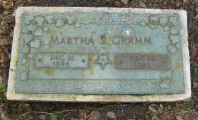 GRAMM, MARTHA S. - Miami-Dade County, Florida | MARTHA S. GRAMM - Florida Gravestone Photos