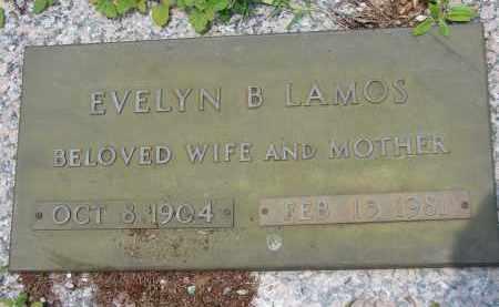 LAMOS, EVELYN B - Miami-Dade County, Florida | EVELYN B LAMOS - Florida Gravestone Photos