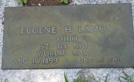 LAMOS (VETERAN WWI), EUGENE H - Miami-Dade County, Florida | EUGENE H LAMOS (VETERAN WWI) - Florida Gravestone Photos