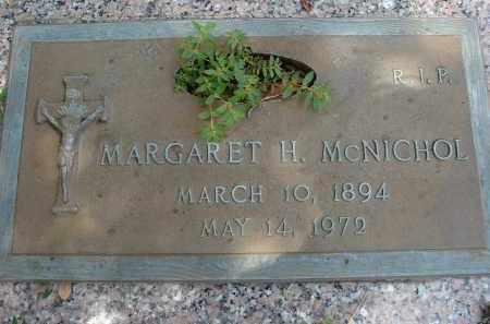 MCNICHOL, MARGARET H - Miami-Dade County, Florida | MARGARET H MCNICHOL - Florida Gravestone Photos