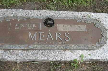 MEARS, JEROME E. - Miami-Dade County, Florida   JEROME E. MEARS - Florida Gravestone Photos
