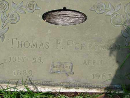 PERRYMAN, THOMAS F - Miami-Dade County, Florida | THOMAS F PERRYMAN - Florida Gravestone Photos