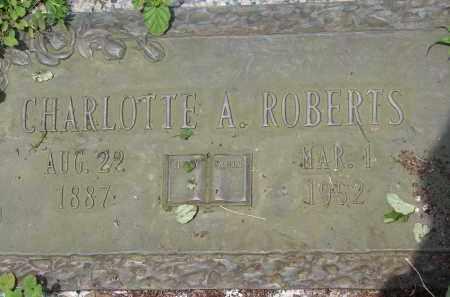 ROBERTS, CHARLOTTE A - Miami-Dade County, Florida | CHARLOTTE A ROBERTS - Florida Gravestone Photos