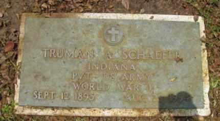 SCHAEFER (VETERAN WWI), TRUMAN A. - Miami-Dade County, Florida   TRUMAN A. SCHAEFER (VETERAN WWI) - Florida Gravestone Photos