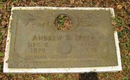 SEVER, ANDREW B. - Miami-Dade County, Florida | ANDREW B. SEVER - Florida Gravestone Photos