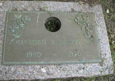SMITHEY, JR., HARRISON R. - Miami-Dade County, Florida | HARRISON R. SMITHEY, JR. - Florida Gravestone Photos