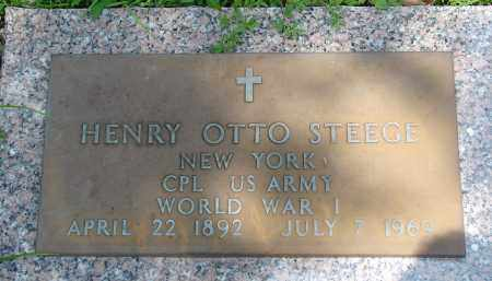 STEEGE (VETERAN WWI), HENRY OTTO - Miami-Dade County, Florida | HENRY OTTO STEEGE (VETERAN WWI) - Florida Gravestone Photos