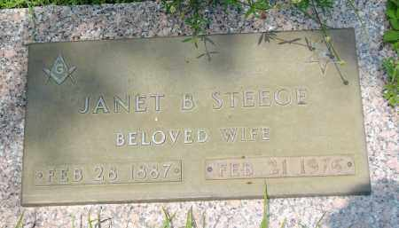 STEEGE, JANET B - Miami-Dade County, Florida   JANET B STEEGE - Florida Gravestone Photos