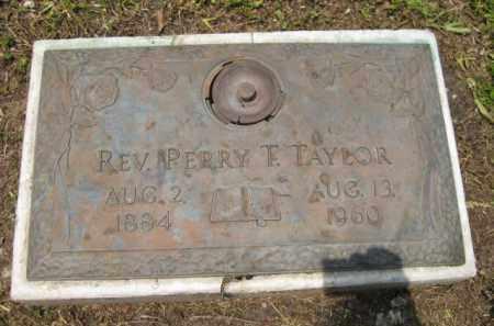 TAYLOR, PERRY F. - Miami-Dade County, Florida   PERRY F. TAYLOR - Florida Gravestone Photos