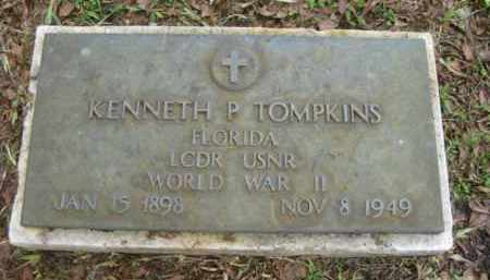 TOMPKINS (VETERAN WWII), KENNETH P. - Miami-Dade County, Florida | KENNETH P. TOMPKINS (VETERAN WWII) - Florida Gravestone Photos