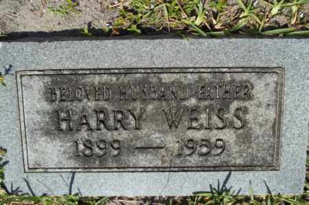 WEISS, HARRY - Miami-Dade County, Florida | HARRY WEISS - Florida Gravestone Photos