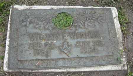 WERNER, WILLIAM F. - Miami-Dade County, Florida | WILLIAM F. WERNER - Florida Gravestone Photos