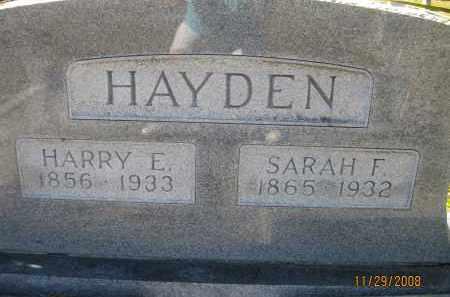HAYDEN, HARRY E - DeSoto County, Florida   HARRY E HAYDEN - Florida Gravestone Photos