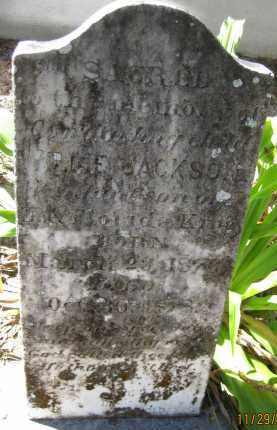 KING, L. E. JACKSON - DeSoto County, Florida | L. E. JACKSON KING - Florida Gravestone Photos