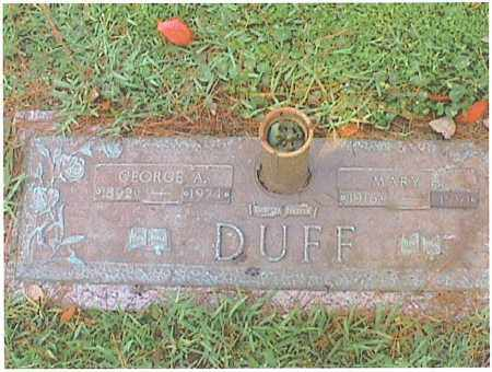 DUFF, GEORGE ALBERT - Escambia County, Florida | GEORGE ALBERT DUFF - Florida Gravestone Photos