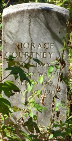 COURTNEY JR.(VETERAN WWII), HORACE - Gadsden County, Florida | HORACE COURTNEY JR.(VETERAN WWII) - Florida Gravestone Photos