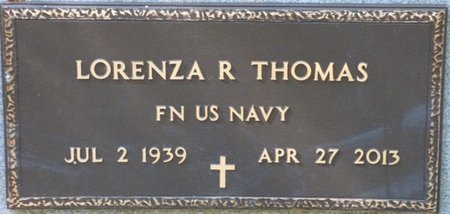 THOMAS (VETERAN), LORENZA REGINALD - Gadsden County, Florida | LORENZA REGINALD THOMAS (VETERAN) - Florida Gravestone Photos