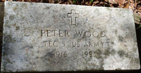 WOOD (VETERAN), SIMON PETER - Gadsden County, Florida   SIMON PETER WOOD (VETERAN) - Florida Gravestone Photos