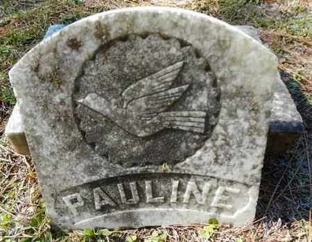 MILTON, PAULINE - Gilchrist County, Florida | PAULINE MILTON - Florida Gravestone Photos