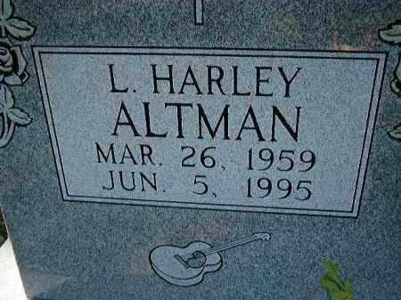 ALTMAN, LLOYD HARLEY - Glades County, Florida | LLOYD HARLEY ALTMAN - Florida Gravestone Photos