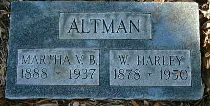 ALTMAN, MARTHA VOLLIE - Glades County, Florida | MARTHA VOLLIE ALTMAN - Florida Gravestone Photos
