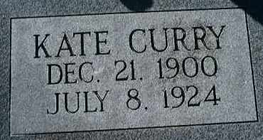 CURRY, KATE - Glades County, Florida | KATE CURRY - Florida Gravestone Photos