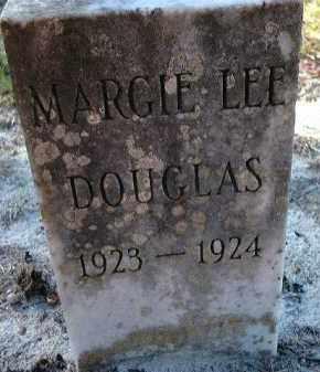 DOUGLAS, MARGIE LEE - Glades County, Florida | MARGIE LEE DOUGLAS - Florida Gravestone Photos