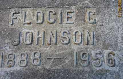 JOHNSON, FLOCIE G - Glades County, Florida | FLOCIE G JOHNSON - Florida Gravestone Photos
