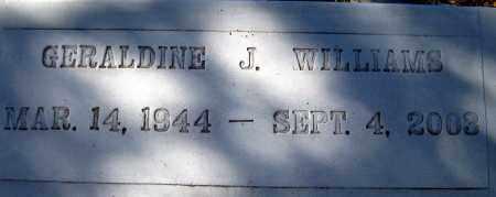 WILLIAMS, GERALDINE J - Glades County, Florida   GERALDINE J WILLIAMS - Florida Gravestone Photos