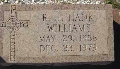 "WILLIAMS, R H ""HANK"" - Glades County, Florida   R H ""HANK"" WILLIAMS - Florida Gravestone Photos"